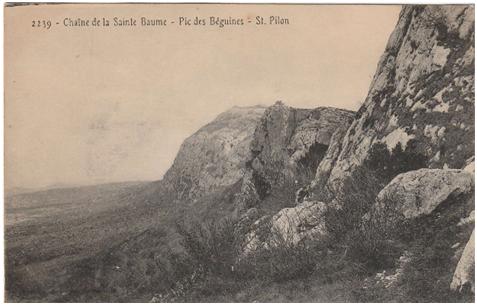 Massif de la Sainte-Baume, Pic des Béguines