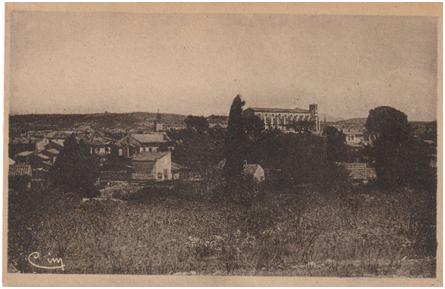 Vue panoramique de Saint-Maximin-la-Sainte-Baume