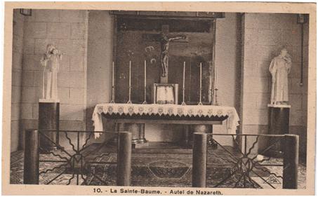 Autel de Nazareth.